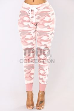CHIEF CAMO JOGGER - PINK