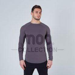 LIFESTYLE LONG SLEEVE - GUNMETAL
