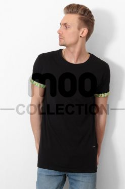 PINEAPPLE SLEEVE TEE BLACK