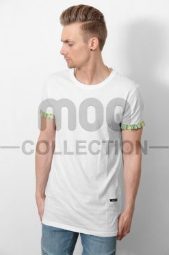 PINEAPPLE SLEEVE TEE WHITE